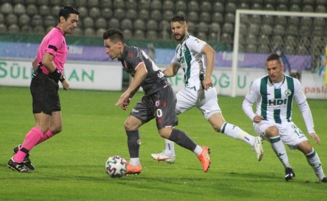 TFF 1. Lig: Giresunspor: 0 - Yılport Samsunspor: 0