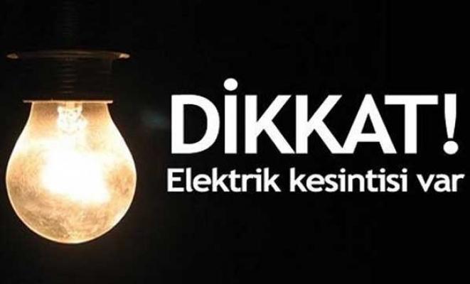 Dikkat! Alanya'da elektrik kesintisi var