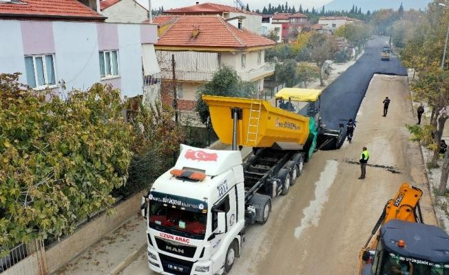 Altyapı bölgesinde yol konforu geçici asfaltla sağlanacak