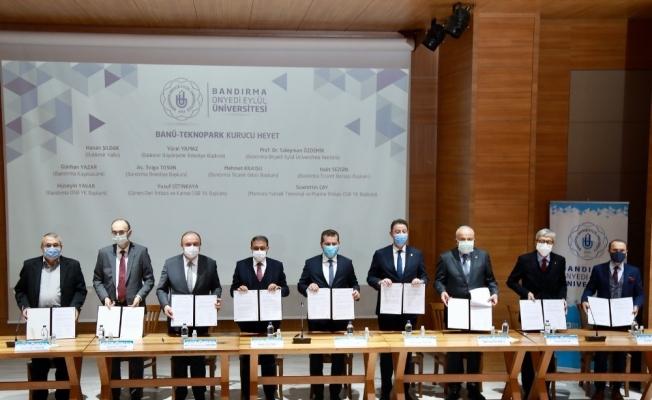 BANÜ Teknopark için imzalar atıldı