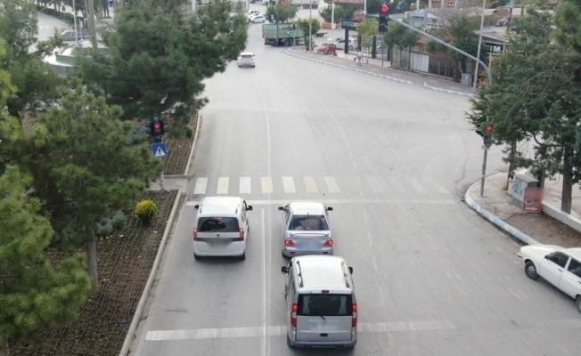 Burdur'da 114 araç sürücüsüne trafik cezası uygulandı, 34 araç trafikten men edildi