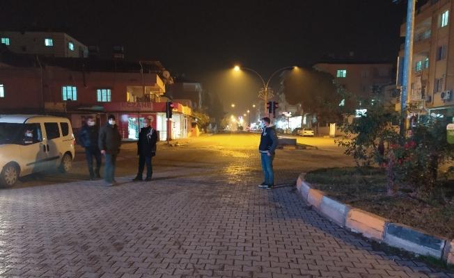 Hatay'da sokaklar boş kaldı