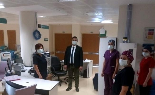 Koronavirüs tedavisi tamamlanan Eskişehir İl Sağlık Müdürü Prof. Dr. Uğur Bilge görevine yeniden başladı