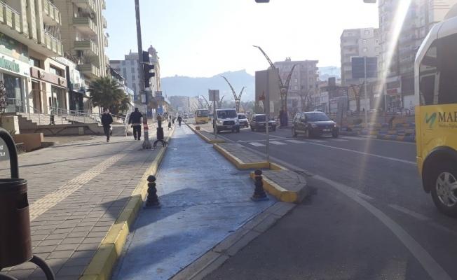 Mardin'de, kısıtlamanın kalkmasının ardından yoğunluk başladı