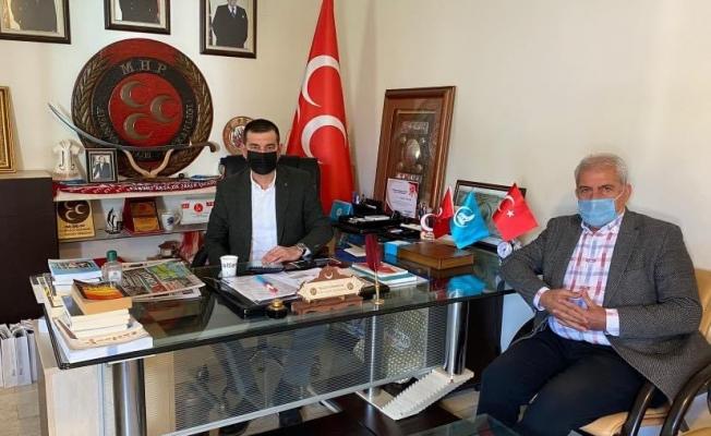 Yiğit'ten yılın son gününde Başkan Türkdoğan'a ziyaret