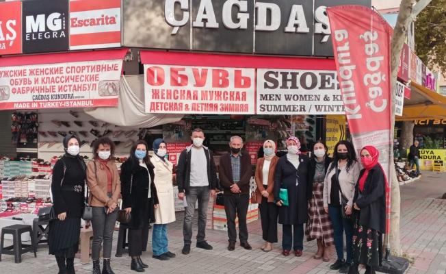 Alanya AK Parti çocukların yüzünde tebessüm bırakacak