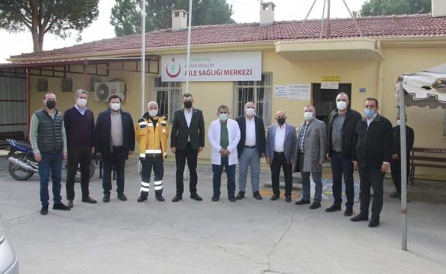 Alanya MHP ziyaretlere devam ediyor