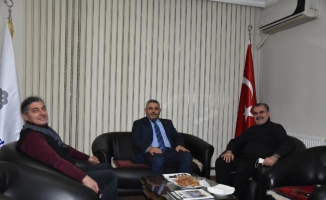 Malatya TSO'dan Türkiye Gazetesi'ne ziyaret