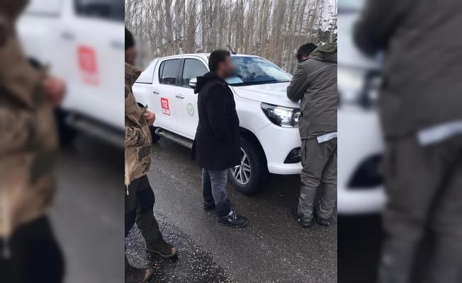 Sivas'ta usulsüz av yapan 9 avcıya 15 bin TL ceza