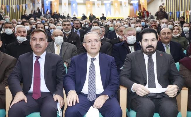 AK Parti Ağrı İl Başkanı Adayı Halil Özyolcu, coşkuyla karşılandı