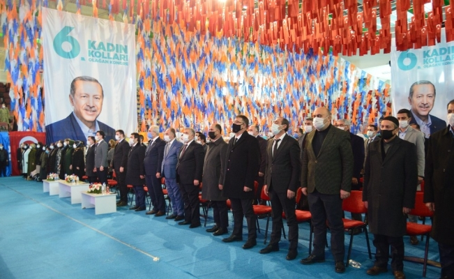 AK Parti Ağrı İl Kadın Kolları 6. Olağan Kongresi yapıldı