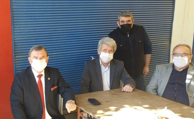 Alanya CHP esnafla buluştu