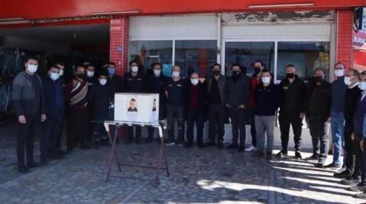 Alanya sanayi esnafı Ahmet bebek için birlik oldu