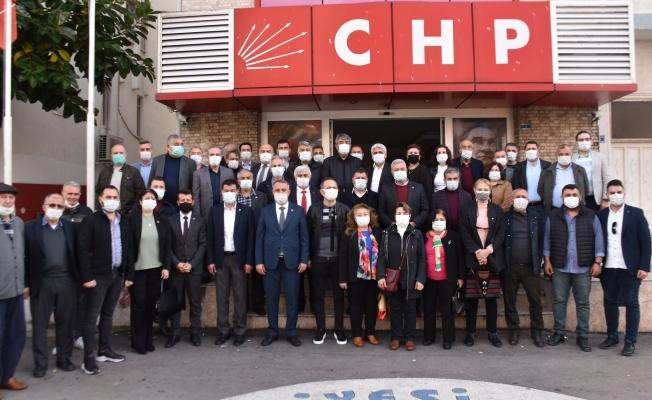 Antalya'da CHP İlçe Başkanları toplandı