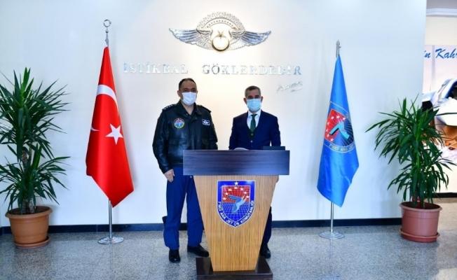 Başkan Çınar'dan Komutan Koltukoğlu'na hayırlı olsun ziyareti