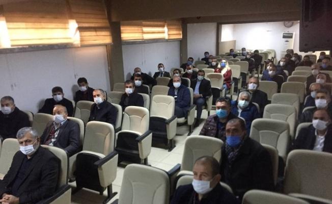 Besni'de 2.dönem eğitim kurumları müdürleri toplantısı yapıldı