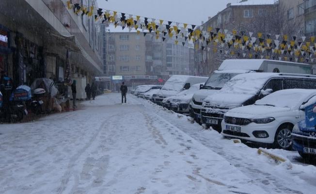 Çankırı'da kar