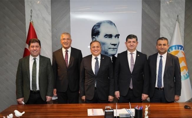 CHP Genel Başkan Yardımcısı Torun, Başkan Tarhan'ı ziyaret etti