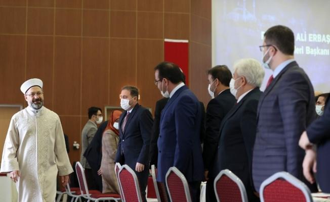 """Diyanet İşleri Başkanı Erbaş: """"Teşkilatımız salgınla mücadelede sürecin en aktif kurumlarından oldu"""""""