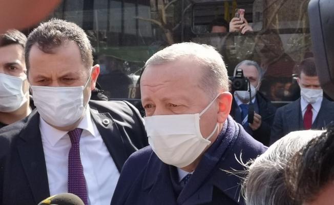 Gazeteciler Cumhurbaşkanı Erdoğan'ın 67. yaş gününü kutladı