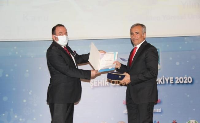 Gaziantep Büyükşehir coğrafi işaretleme alanında ödül aldı
