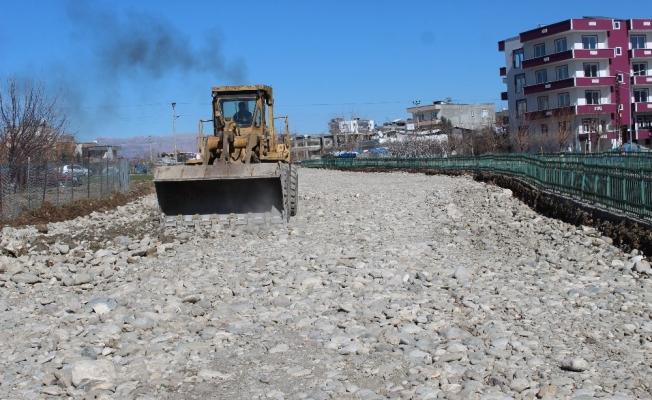 Kahta'da yeni çevre yolu açılıyor