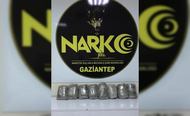Kamyona zulalanan 8 kilo uyuşturucu ele geçirildi