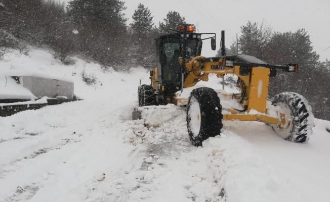 Karabük'te 43 köy yolu ulaşıma açıldı