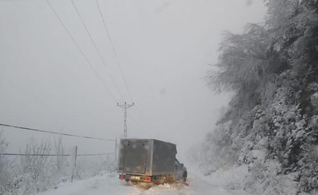 Kastamonu'da 613 köy yolu ulaşıma kapandı