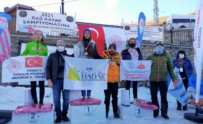 Kayserili sporcular Trabzon'dan 5 madalya ile döndü