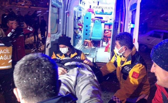 Kırıkkale'de ticari taksi ile çarpışan otobüs devrildi: 1 ölü, 2 yaralı