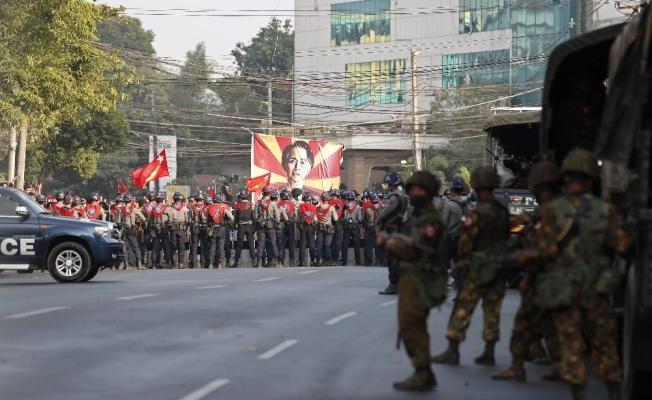Myanmar'da darbe karşıtlarına 20 yıl hapis cezası