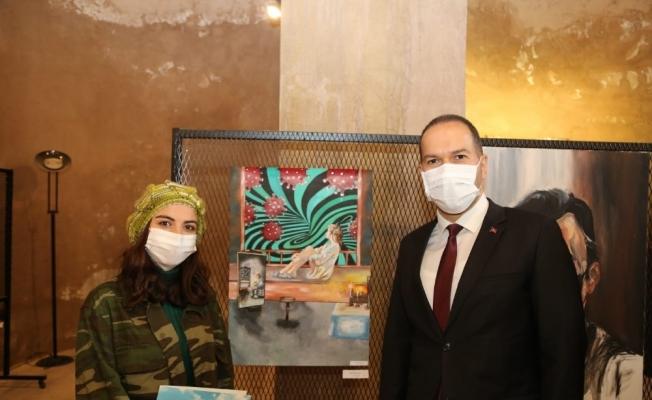 """Niğde'de """"Pandemi ile Değişen Dünyam"""" Konulu Resim Yarışması Ödül Töreni düzenlendi"""