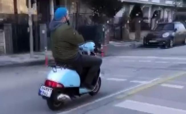 (Özel)- Kadıköy'de motosikletle ölümüne yolculuk kamerada