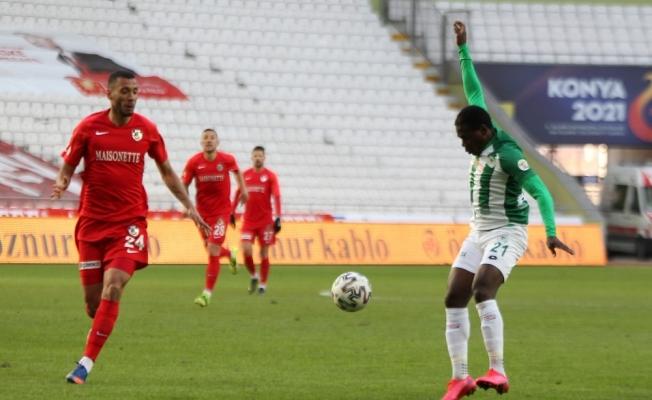 Süper Lig: Konyaspor: 0 - Gaziantep FK: 0 (Maç sonucu)