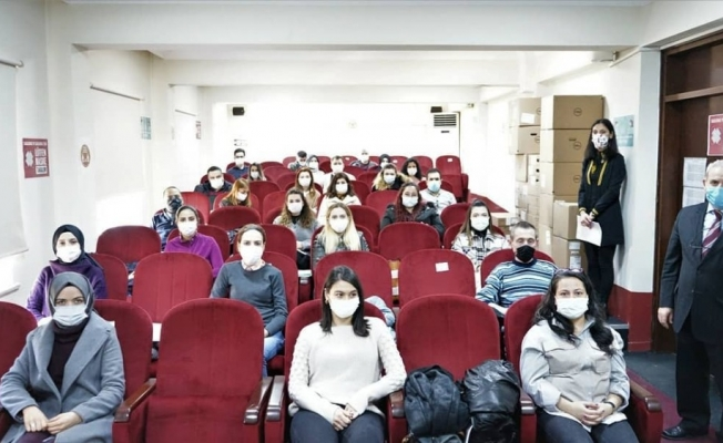 Tekirdağ'da 8 ilden katılımla gıda kontrol görevlisi kursu