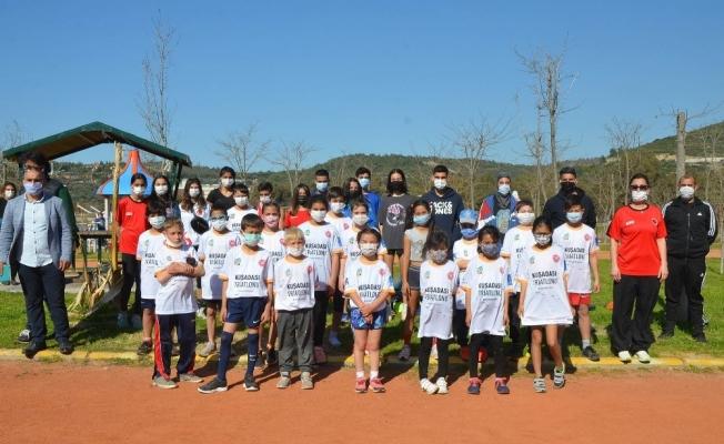 Atletizm Geliştirme Projesi seçmeleri Kuşadası'nda yapıldı