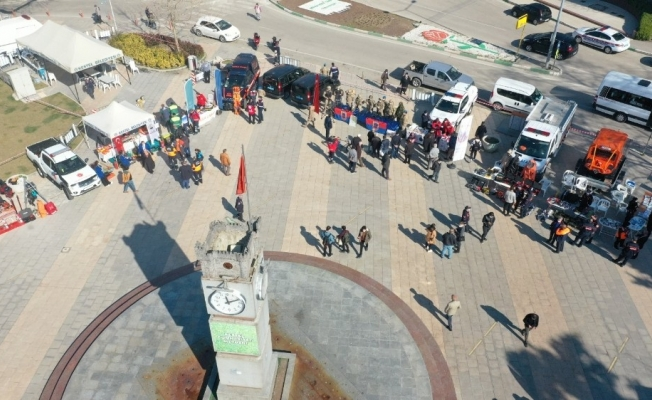Bursa'da depreme karşı bilinçlendirme etkinliği