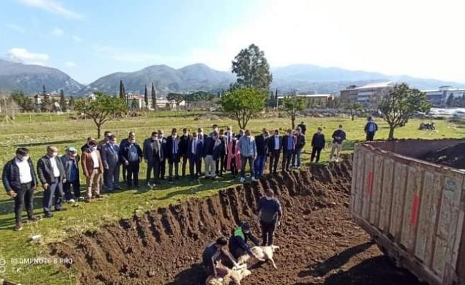 Düziçi'nde 100 yataklı devlet hastanesinin yapımına başlandı
