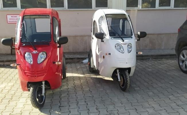 Gürün Kaymakamlığı engelliler için 2 adet motorlu araç satın alındı