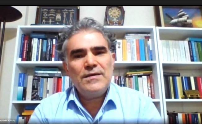 """""""Hukukun Mahfuz Alanı İsrail'in İşgal Politikası"""" konulu e-konferans gerçekleştirildi"""