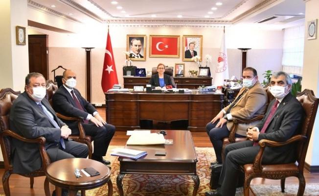 Kilis heyetinin Ankara temasları
