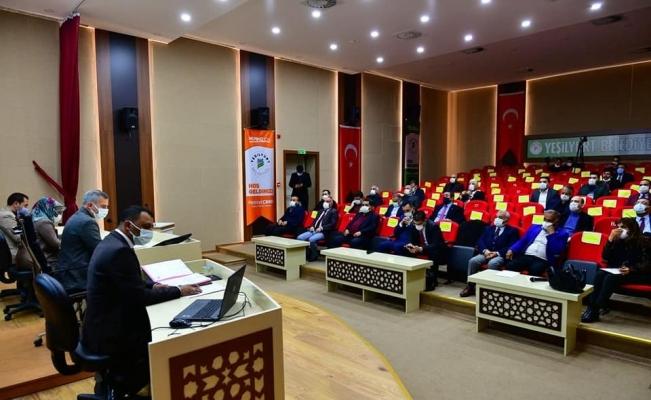 Yeşilyurt Belediyesi Meclisi Mart ayı toplantısı yapıldı