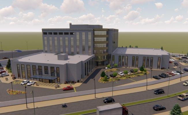 Akyurt'ta hastane inşaatı başladı