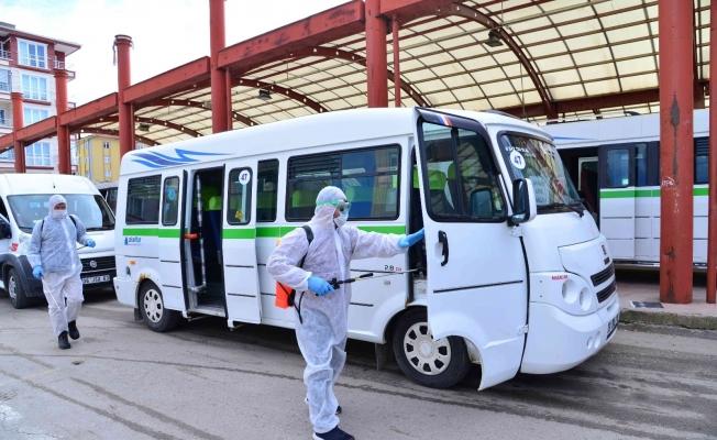 Ankara'da araçlar ücretsiz dezenfekte ediliyor