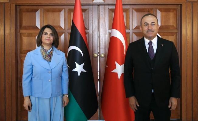 Bakan Çavuşoğlu'nun Libya mesaisi