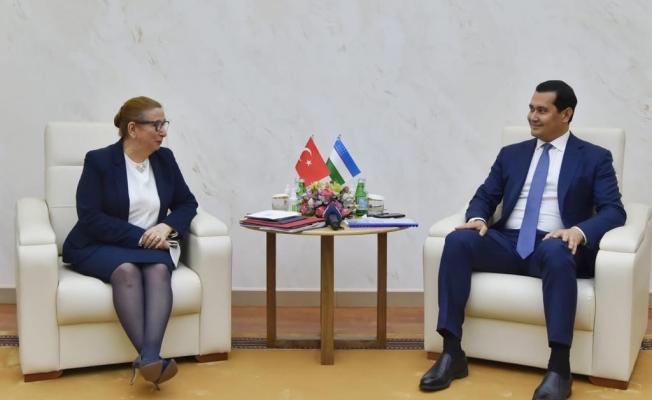 Bakan Pekcan, Özbekistan Başbakan Yardımcısı Umurzakov ile görüştü