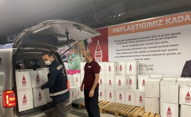 Beyoğlu'nda 4 bin 500 aileye gıda yardımı