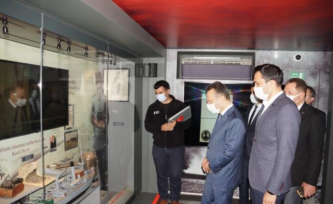 Çanakkale Savaşları Mobil Müzesi Aydın'a geldi