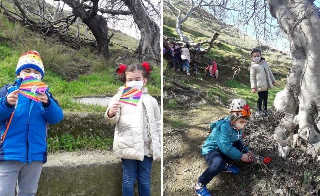 Erdek-Çakıl İlkokul öğrencileri 'Kahramanlar Kulübü'nde